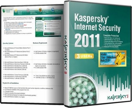 kaspersky internet security dan kaspersky antivirus 2011