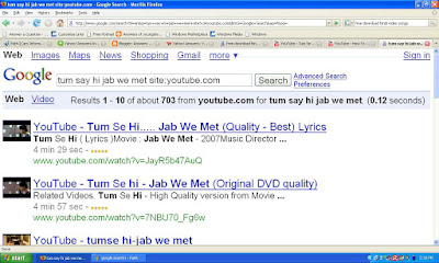I Will Select And Copy Url As Shown In The Pic Of First Video Appeared Search Result Because Order Their Ratings