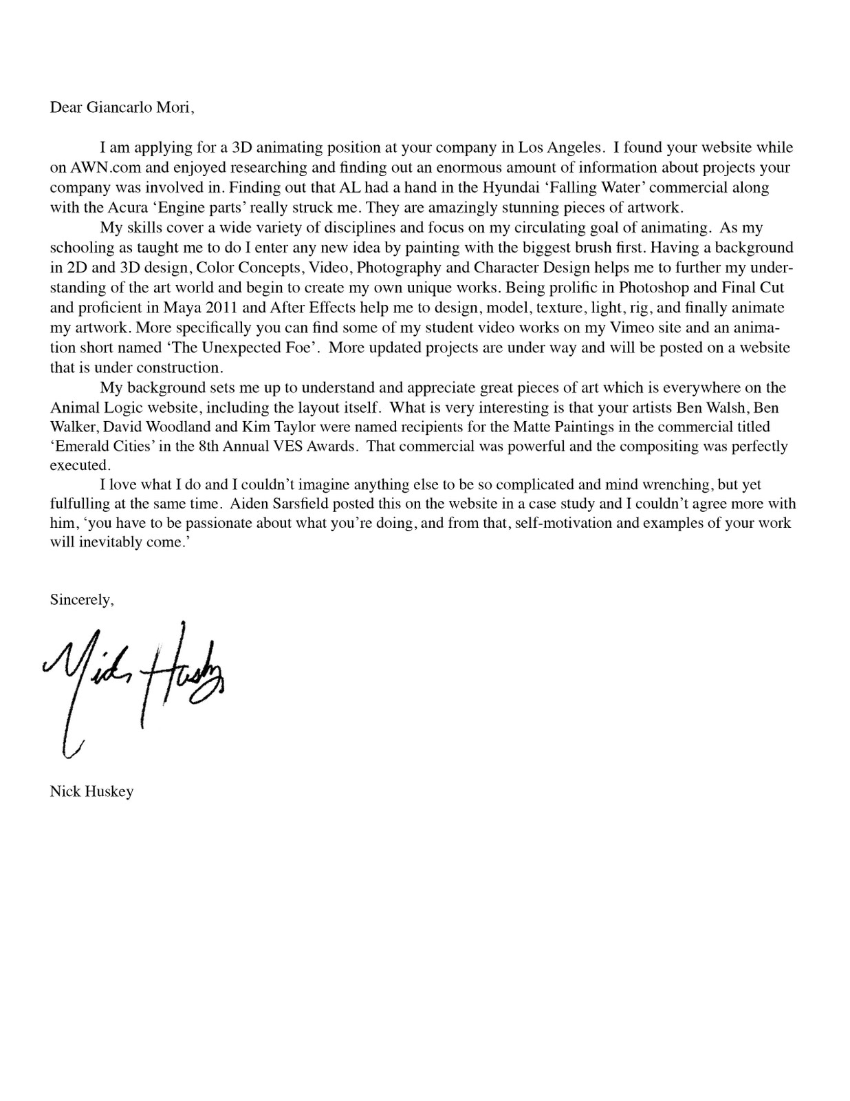 cool cover letters Create a professional cover letter in minutes using our free cover letter writer  choose from professional cover letter templates, see samples and examples,  and.