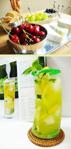 Sugestão de lanchinho frugal e drinks refrescantes para receber os amigos no verão!!!