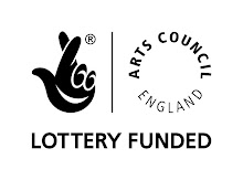'Supported by the National Lottery through Arts Council England'