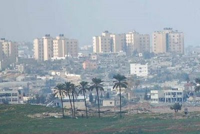 Gaza City skyline