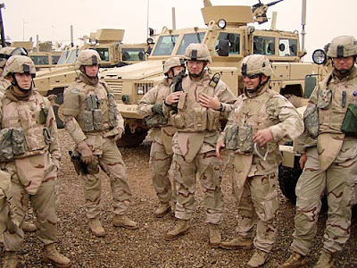 U.S. Army troops in Iraq