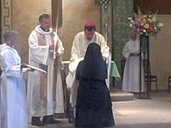 Canonical Granting of Cowl, Solemn (perpetual) Eremitic Profession