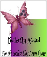 Butterfly Blog award