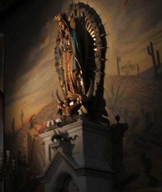 Imagen de la Virgen de Guadalupe