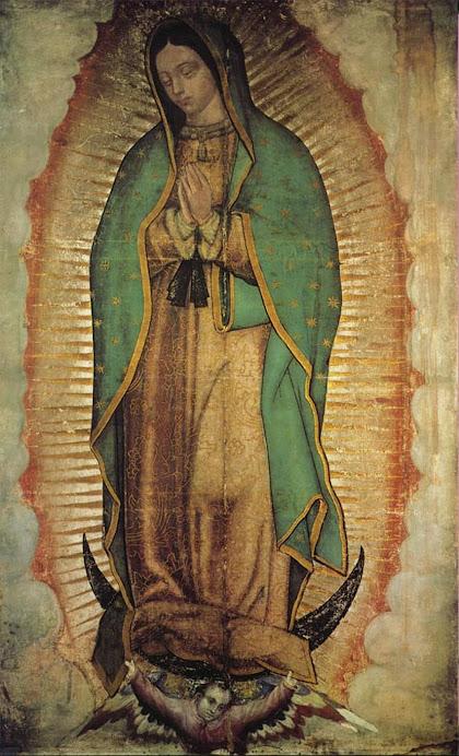 Madre TONANTZIN. Santísima Virgen Ntra.Sra. de Guadalupe.