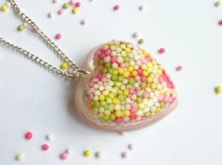 Cake Sprinkle Pendant