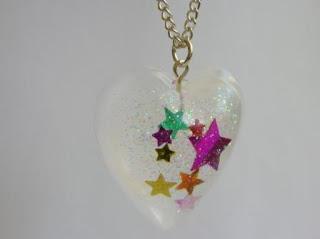 Confetti Stars Pendant