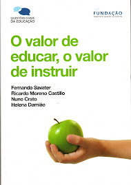 O valor de educar, o valor de instuir