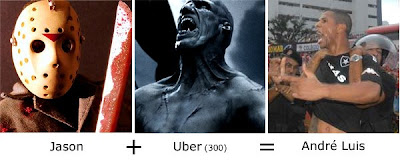 Matemática dos Famosos - Jason + Uber (300) = André Luis