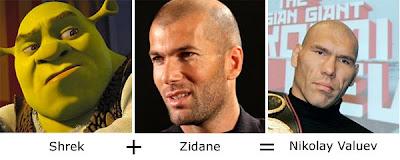 Matemática dos Famosos - Shrek + Zidane = Nicolay Valuev