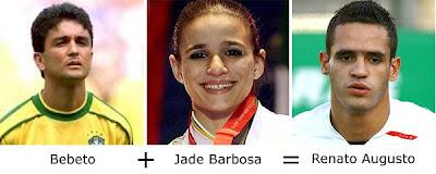 Matemática dos Famosos - Bebeto + Jade Barbosa = Renato Augusto