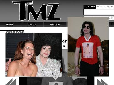 Fotos da intimidade de Michael Jackson