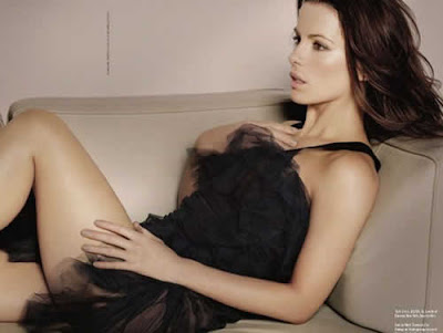Kate Beckinsale sensual em revista