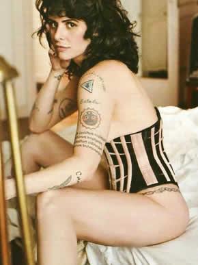 Foto: Fernanda Young na Playboy cai na internet