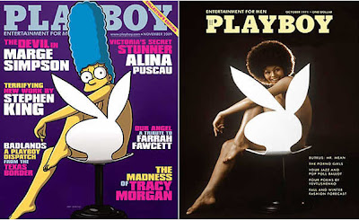 Capa da Playboy de Marge Simpson relembra edição clássica de 1971