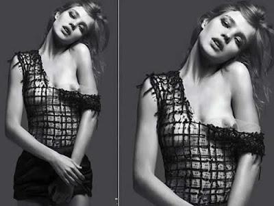 Natalia Vodianova faz topless em revista