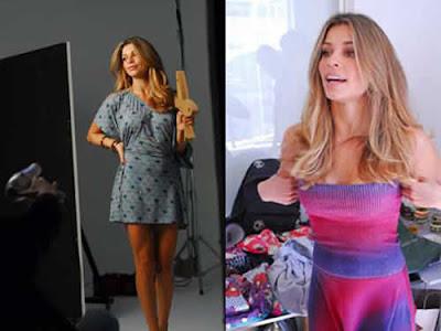 Grazi Massafera faz campanha de moda