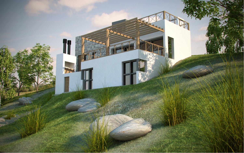 Estudio uno arquitectura vivienda en las sierras de c rdoba - Estudios de arquitectura en cordoba ...