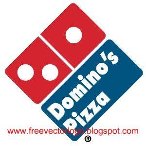 Domino's pizza logo vector