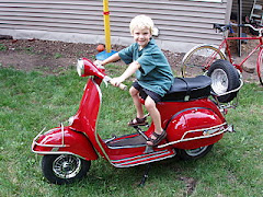 My Vespa and My Boy