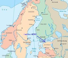 An American Extrovert In Estonia Quiet Weekend In Tallinn - Where is estonia