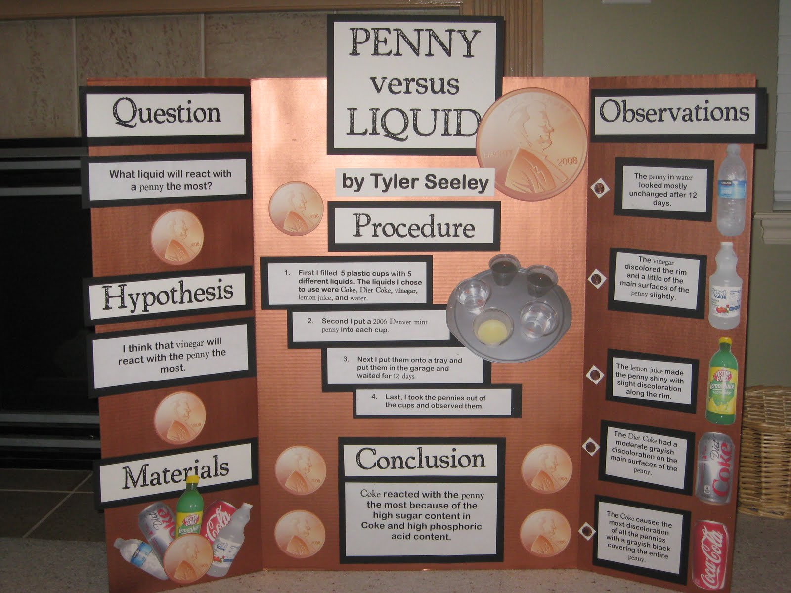 Science Fair Project Idea | Fun stuff | Pinterest | Science Fair, Fair ...