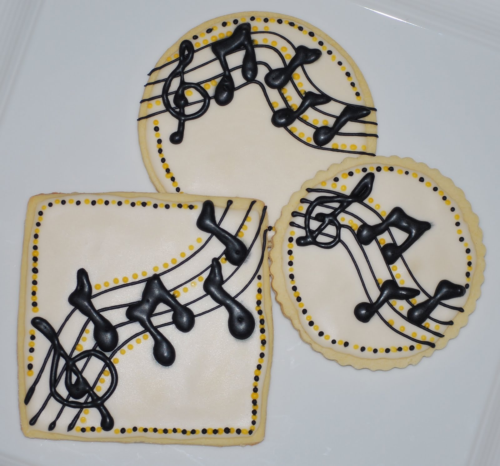 Music: The Preppy Chef: Music Themed Cookies