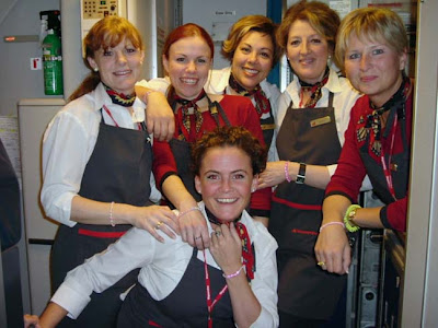 Hot Air Hostess Pictures | Real Life Hot Pictures of Air Hostesses of the World