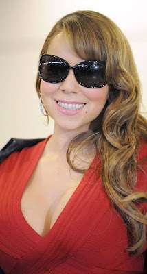 mariah carey at narita Airport in japan