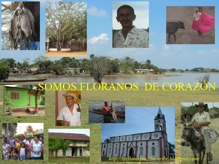 LAS FLORES (SUCRE) Y LOS FLORANOS