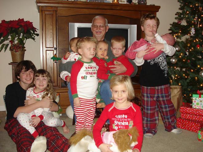 me and my 9 grandchildren