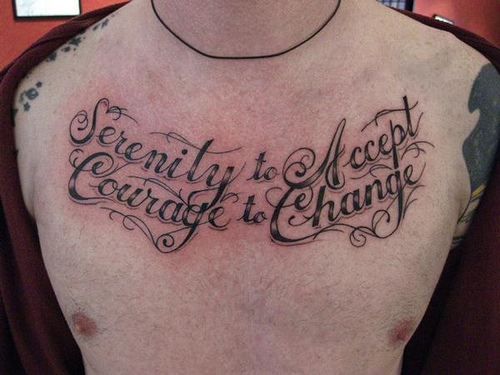 tattoo letters on chest. Chest Lettering tattoo. Published by Robstreet at 9:08 AM. Share on Facebook