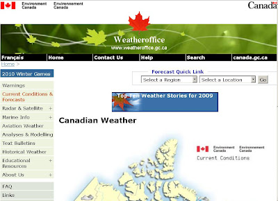 Environment Canada Weather - www.weatheroffice.gc.ca
