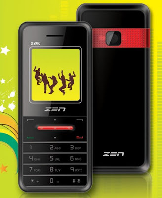 Zen X390 Mobile: Price, Specifications & Features