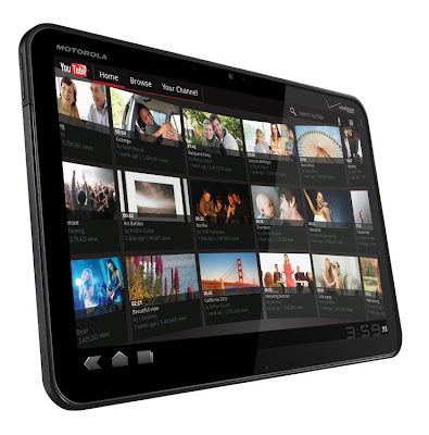 Motorola XOOM 4G tablet launched at CES 2011
