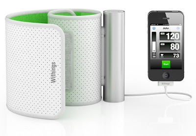 Withings launched iPhone blood pressure monitor at CES 2011