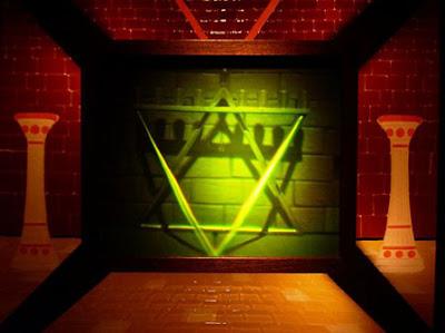 Hologram jewish star