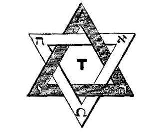 Eliphas Levi's Duad Hexagram