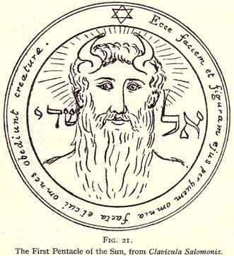 מגן דוד, כיתוב בעברית ובלטינית