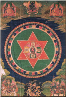 hexagram from Tibet