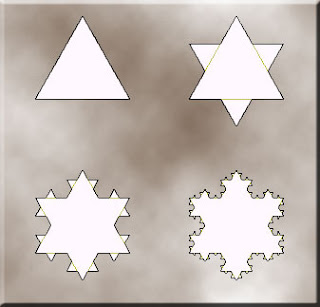 Koch Fractals Hexagram
