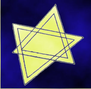 Megiddo history hexagram six-pointed star