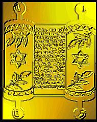 מגילת זהב עם מגני דוד