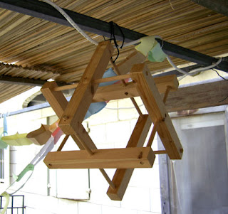 Puzzle in the Sukkah Star of David