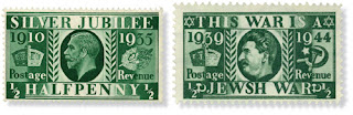 Nazi Propaganda Stamp Stars of David