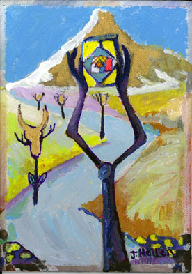 Magen David israeli art part of series