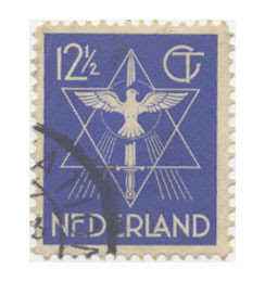 Stamp Holland Hexagram