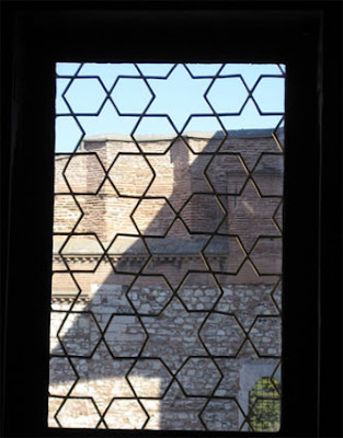 Hexagram window